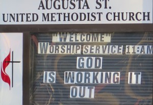 God Is Working It Out